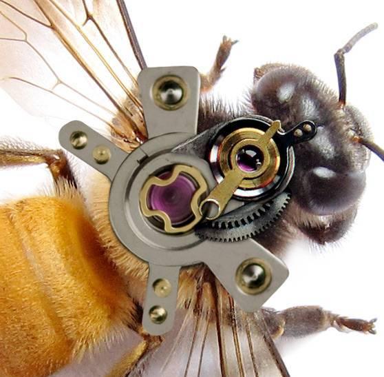 Создание механической пчелы в Фотошоп.