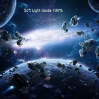 Как создать удивительный космический коллаж в Фотошоп
