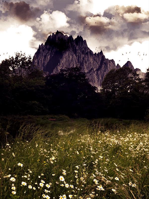 Создаем собственный пейзаж в Фотошоп
