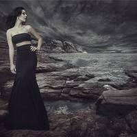 "Создание фотоманипуляции ""На берегу во время шторма"""