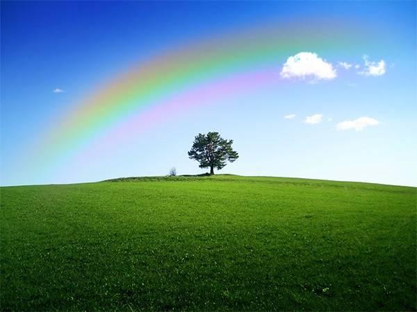 Учимся создавать настоящую радугу