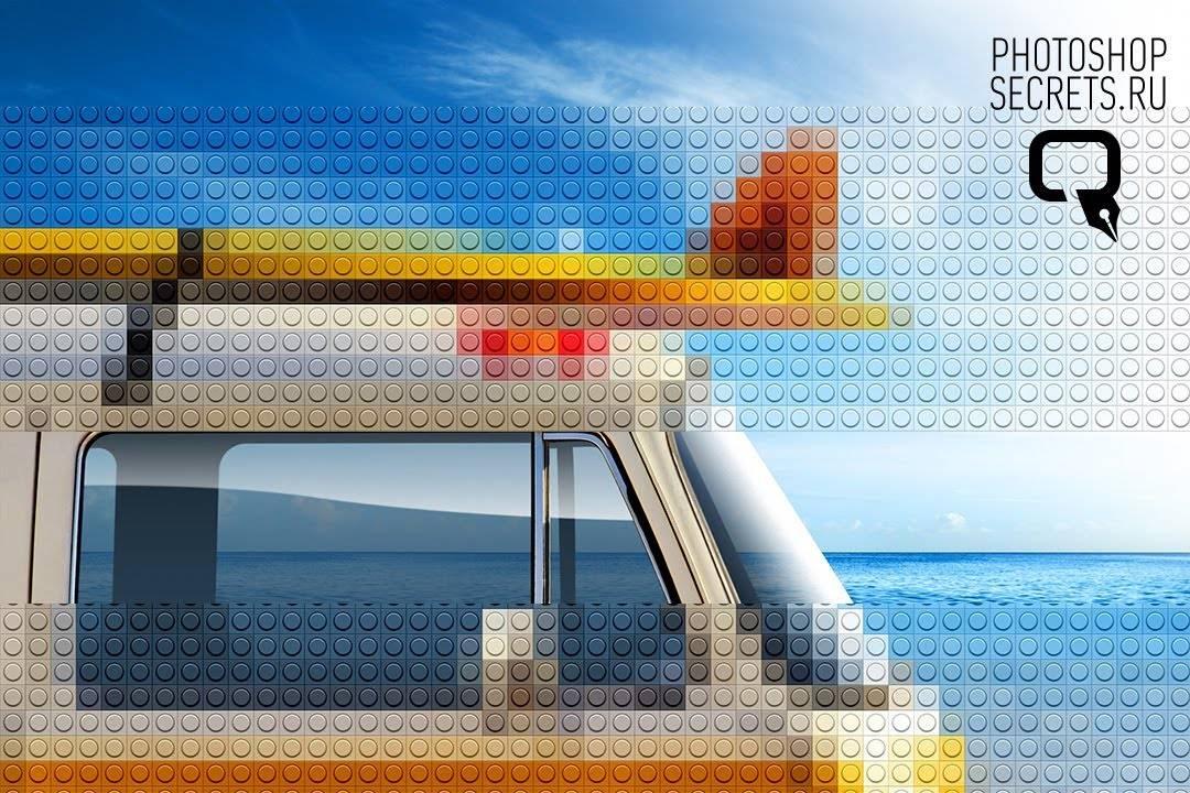 maxresdefault 54 - Lego в Фотошоп