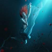 Фантазия подводной сцены в Photoshop