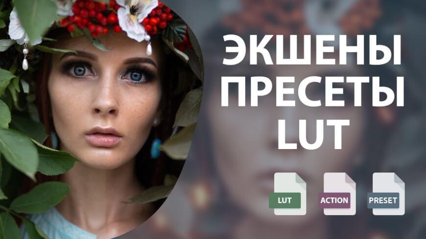 lut photo - Что лучше экшен, пресет или LUT в Photoshop?